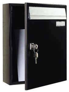 City Powder Coated Letterbox