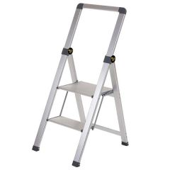 Climb-It Slim Folding Steps - Open