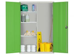 Extra Wide Cupboards with 3 Adjustable Half Shelves