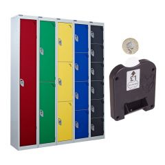 Coin Operated Lockers - Coin Return Lock