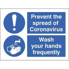 Coronavirus Sign - Wash your Hands - Vinyl