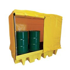 IBC Covered Sump Pallets - Double