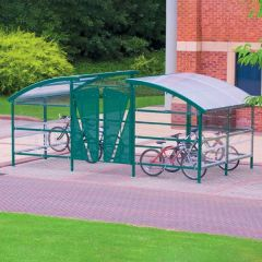 Cycle Compound with Lockable Gate