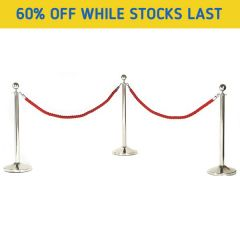 Deluxe Rope Barriers - Special Offer