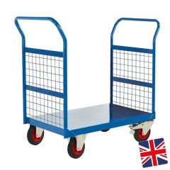 UK Manufactured Two Sided Platform Truck