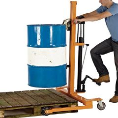 Hydraulic Drum Lifter - In Use