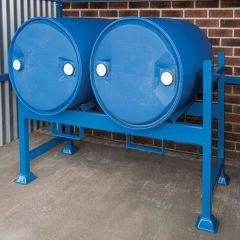 Drum Rack: holds 2 x 210L drums
