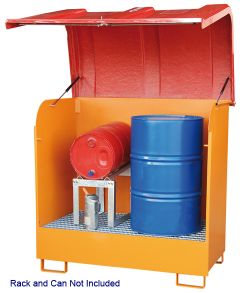 Drum Storage Unit for Outdoor use