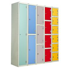 Dry Area Laminate Door Lockers