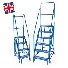 Duplex Weight Reactive Warehouse Steps- UK Made