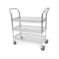 Basket Trolley - 3 Shelf