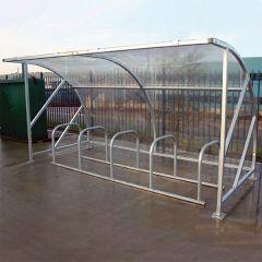 Economy Cycle Shelter - 540141080 Galvanised option