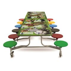 12 Seat 'SmartTop' Table Seating Units - Animals