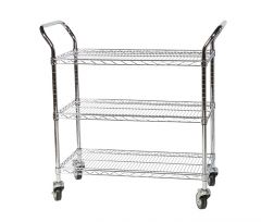 ESD Chrome Wire Trolley