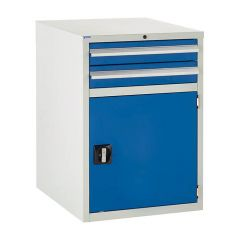 600 Euroslide Cabinet - 2 Drawer & Cupboard