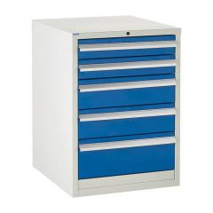 600 Euroslide Cabinet - 5 Drawers