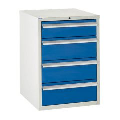 600 Euroslide Cabinet - 4 Drawers