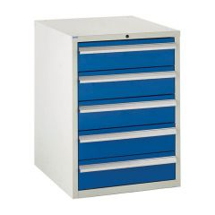 600 Euroslide Cabinet - 5x 150mm Drawers
