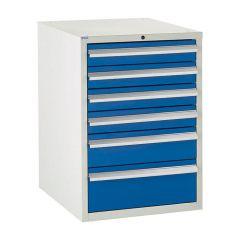 600 Euroslide Cabinet - 6 Drawers