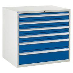 900 Euroslide Cabinet - 6 Drawers