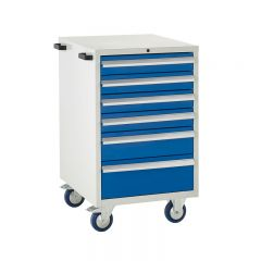 600 Euroslide Mobile Cabinets - 6 Drawers.