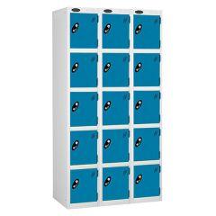 Probe Five Door - Nest of 3 - White Carcass - Blue Door