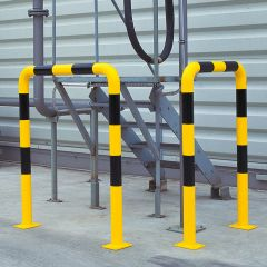 Galvanised Heavy Duty Protection Guards- In Use