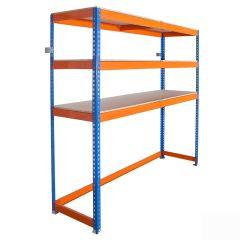 Garage space saver racking - load capacity up to 400kg UDL.