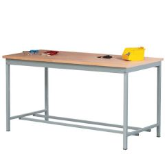 General Purpose Sq Tube Workbenches with Beech Worktop - 500kg UDL