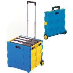 GI041Y Folding box truck blue/yellow 35kg