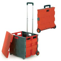 GI042Y red and grey folding box truck with lid 35kg