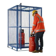 Knock Down Cyclinder Cages