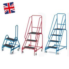 Mobile Warehouse Safety Steps- UK Made