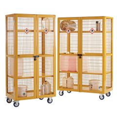Boxwell Hazardous Mobile Storage Cages
