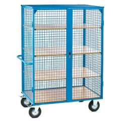 Heavy Duty Distribution Trolley - With optional shelves