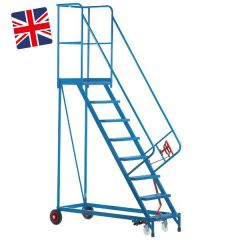 Heavy Duty Mobile Steps- UK Made