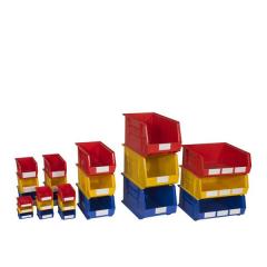 Heavy Duty Plastic Bins Group Image