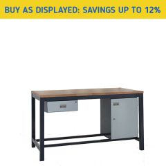 Heavy Duty Industrial Workbench Kit 1 - Savings
