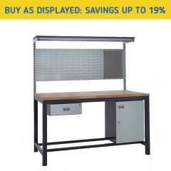 Heavy Duty Industrial Workbench Kit 2 - savings