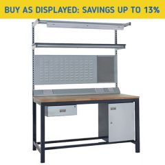 Heavy Duty Industrial Workbench Kit 3 - savings