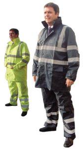Nylon/PVC Hi Visibility Rainwear