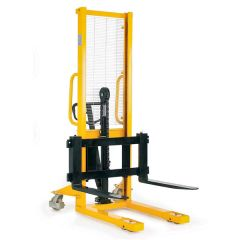 Hydraulic Stackers with Adjustable Fork