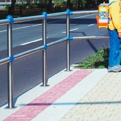 Traffic Line Stainless Steel Railings