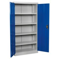 Sealey Industrial Cabinet with 4 shelves