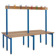 Double Sided Junior Cloakroom Benches