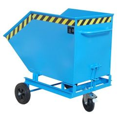 Manual Tipping Skip used at ground level