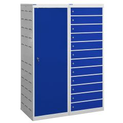 Laptop Charging Lockers - 12 Compartments
