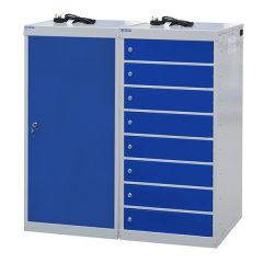 Laptop Charging Lockers - 8 Compartments