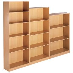 Open Front Bookcases