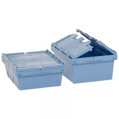 MB Containers with Hinged Strap Sealing Lid